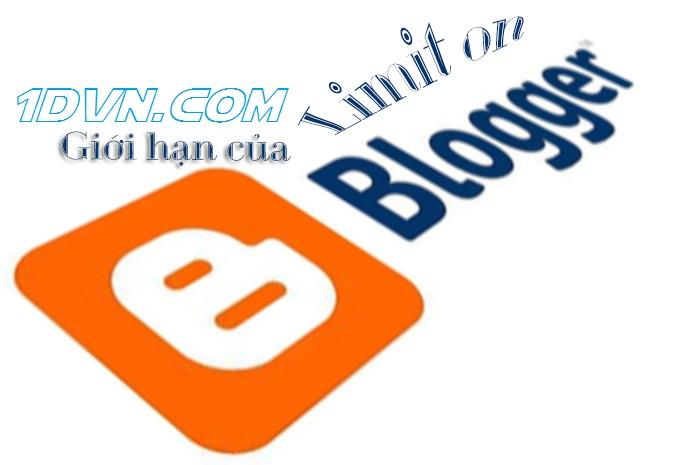 Giới hạn của nền tảng Blogspot mà bạn cần biết