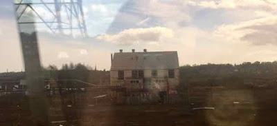 A Dead Warehouse from the Train