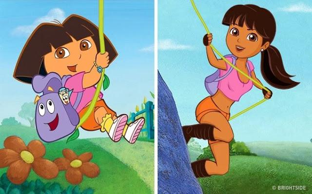2. Dora (Dora The Explorer)