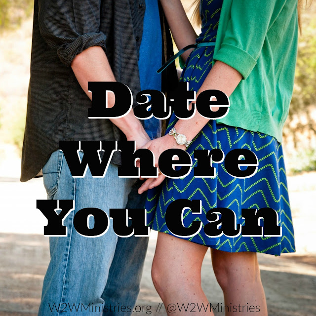 Date Where You Can. #marriage #marriagemonday #wifey #husband #dating