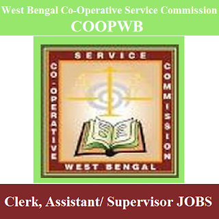 West Bengal Co-Operative Service Commission, COOPWB, 10th, WB, West Bengal, Clerk, Assistant, Supervisor, freejobalert, Sarkari Naukri, Latest Jobs, coopwb logo