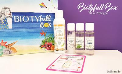 "BIOTYfull Box ""La Protégée"" diy visage joli essence"