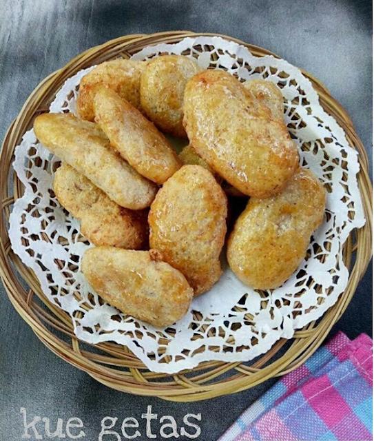 Resep Kue Getas Ketan
