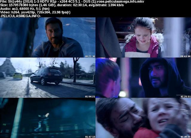 Descargar Shivaay Subtitulado por MEGA.