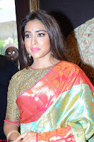 Shriya Saran Looks Stunning in Silk Saree at VRK Silk Showroom Launch Secundrabad ~  Exclusive 109.JPG