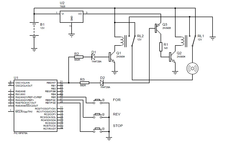 Diy Pickit 2 Clone This Simplified Circuit From The