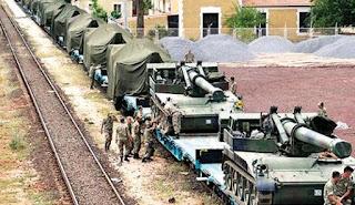 La Turquie a augmenté ce samedi le matériel militaire lourd sur sa frontière avec la Syrie