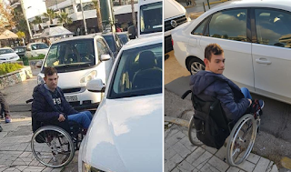 Το ξέσπασμα ενός πατέρα που περίμενε επί 45 λεπτά με τον γιο του σε μπλοκαρισμένη διάβαση