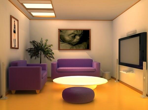 Model Ruang Tamu Yang Mungil Sederhana Tapi Modern
