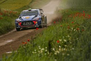 Hyundai Motorsport Raliul Poloniei