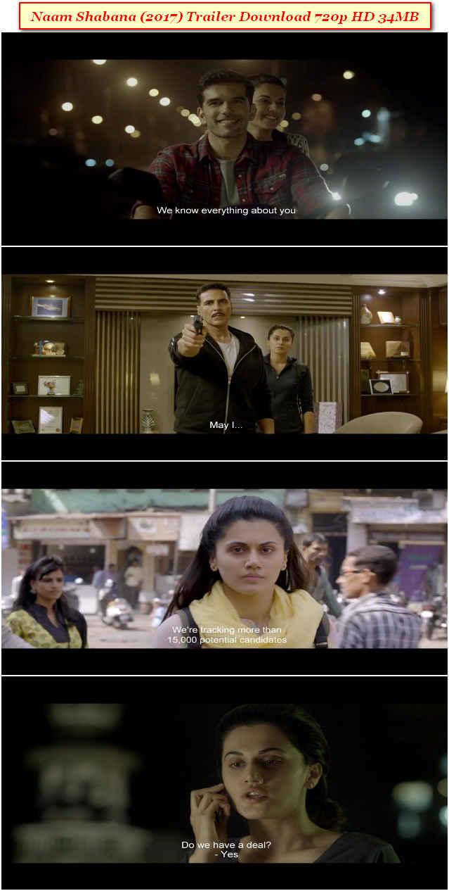 Naam Shabana Trailer Download
