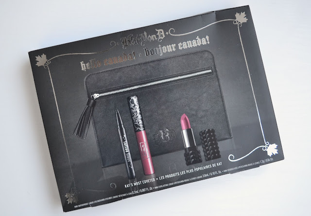Kat Von D Hello Canada Gift Set Review