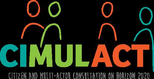 A CIMULACT (Citizen and Multi-actor Consultation) projekt fő célkitűzése, hogy hozzájáruljon az európai kutatás és innováció hasznosságához és megbízhatóságához azáltal, hogy az állampolgárok és egyéb érintettek bevonásával, velük együtt alakítja ki a kutatási területeket, méghozzá a tényleges és valós társadalmi jövőképek, szükségletek és igények alapján. A projektben összesen 30 európai ország szakértői és állampolgárai vesznek részt különböző egyeztető folyamatokban.