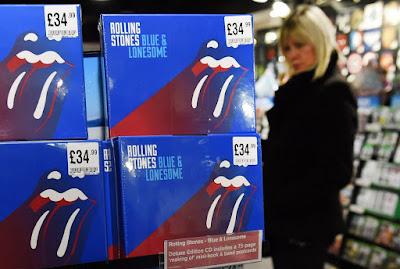 Rolling Stones, zene, Blue & Lonesome, blues