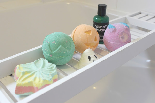 Lush Halloween Collection Review