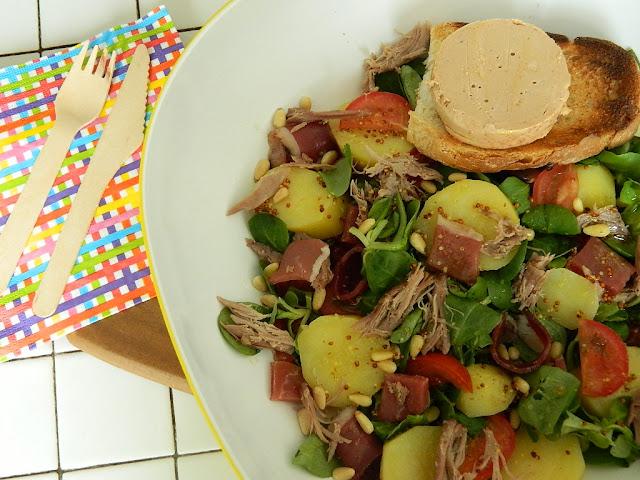 Salade façon périgourdine