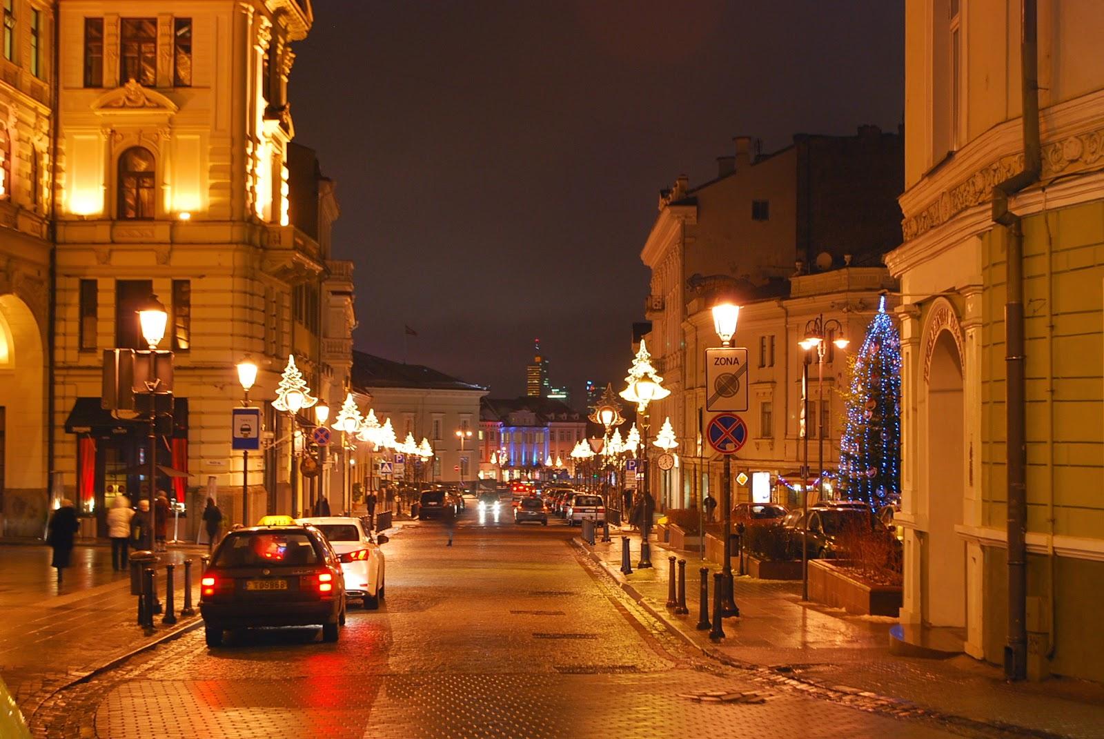 Вечерний Вильнюс, Литва