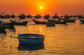 mặt trời lặn tại Phan Thiết