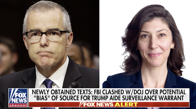 McCabe-Page texts reveal high-level intel meeting after 2016 election