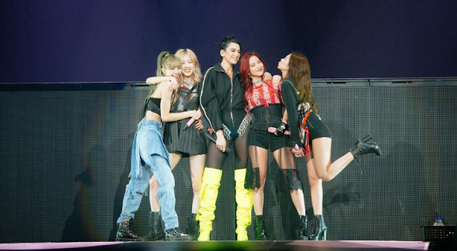 "BLACKPINK NEWARK Tour – DUALIPA Joins Blackpink To Perform ""Kiss And Makeup"""