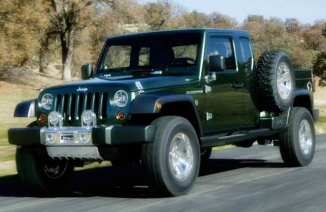 2017 Jeep Gladiator Redesign