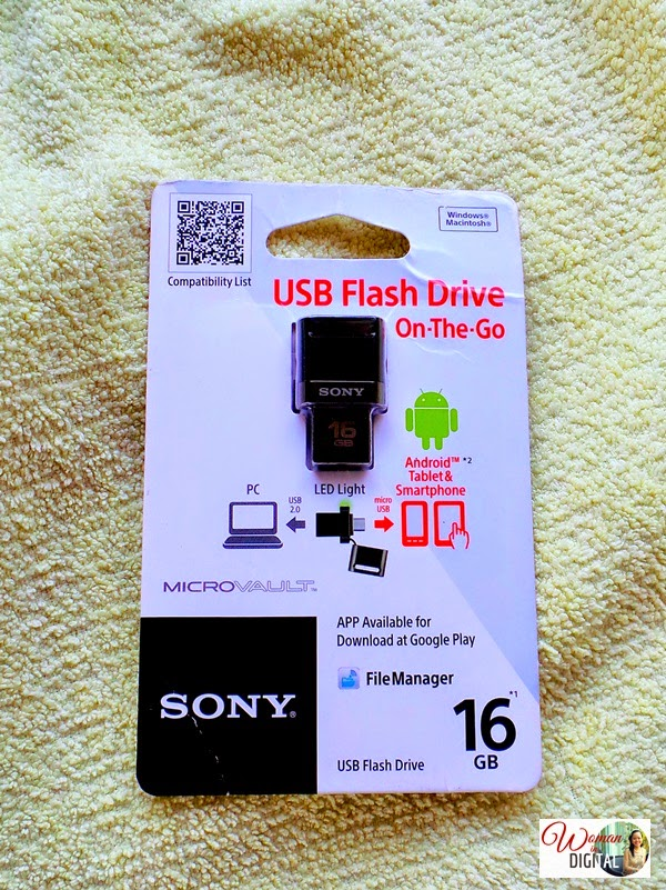 Review of SONY Micro Vault USB Flash Drive
