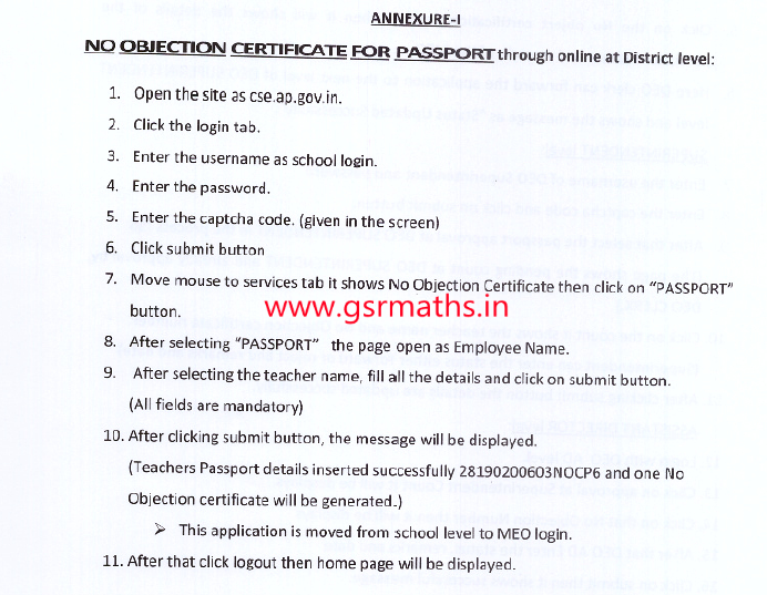 Doc600730 No Objection Certificate for Passport No Objection – Letter of No Objection Template