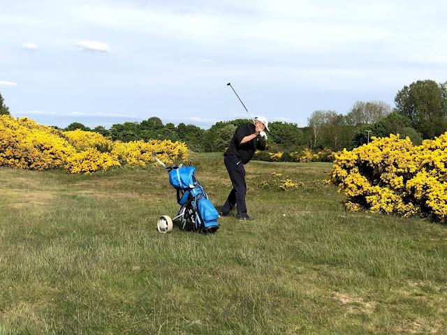 Golfia Nairn Dunbar Golf kentällä