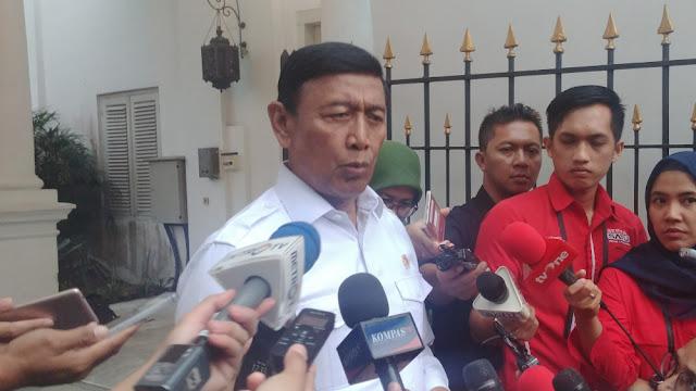 Wiranto soal Konsultan Asing Pilpres: Sah-sah Saja, Nggak Masalah