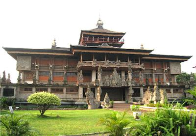 Rumah Adat Gapura Candi Bentar , Rumah Adat Provinsi Bali