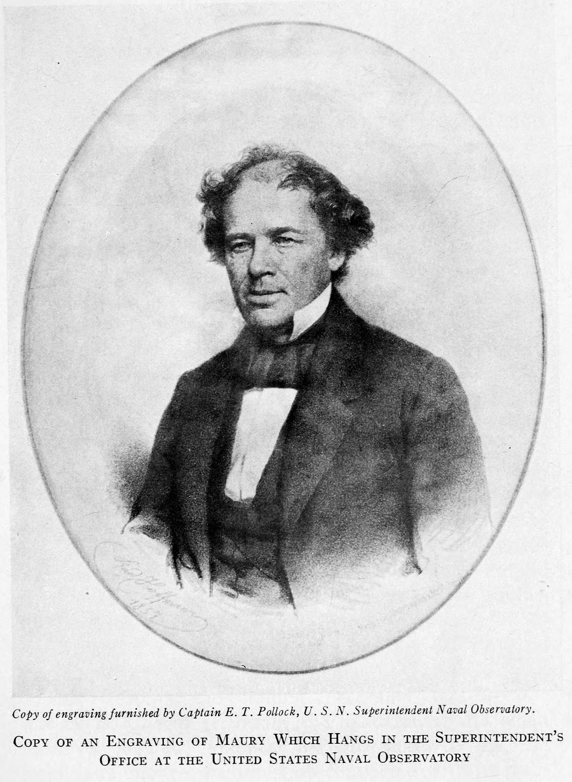 matthew fontaine maury essay God describes his design for the sea in   in 1855 matthew fontaine maury,  maury's attention was caught by the mention of paths in the seas,.