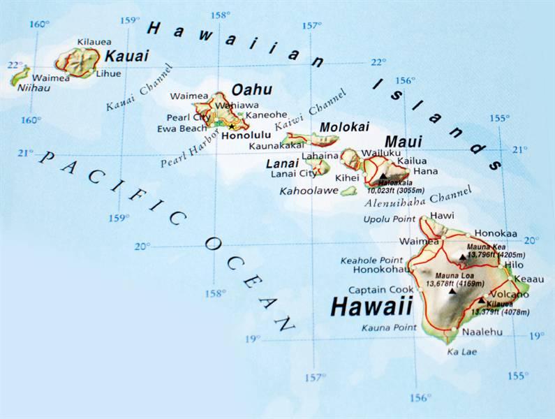 Map hawaiian islands gumiabroncs Image collections