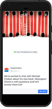 How to Start a Facebook Live Video From Your Mobile Phone