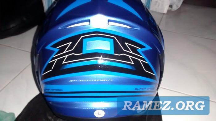 Ulasan Helm WTO Blue X-5 SS-45 SNI Indonesia
