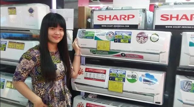 SERVICE AC SHARP DAERAH JAKARTA TIMUR