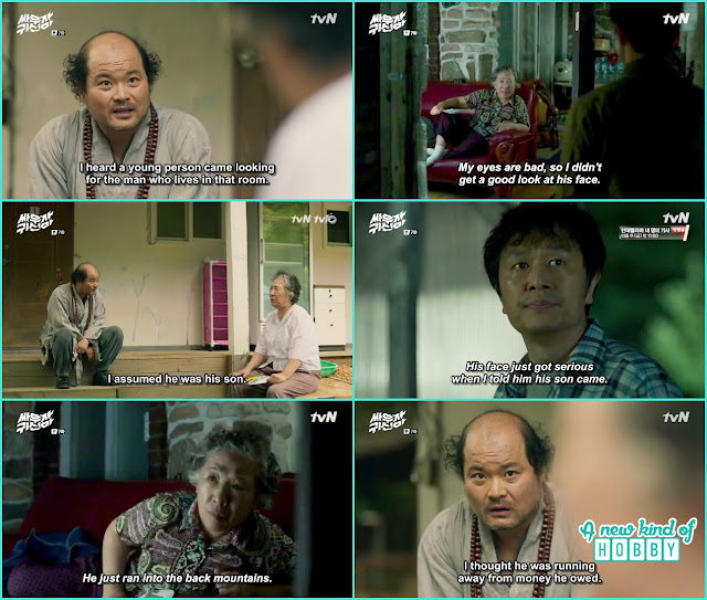 monk mayung and bong pal father - Let's Fight Ghost Episode 7 Review - Korean Drama 2016