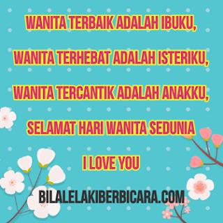 Selamat Hari Wanita Sedunia: All My Love