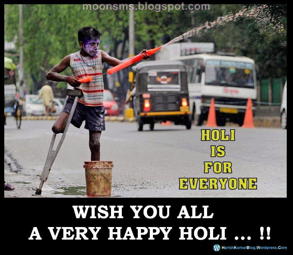 Holi beautiful message sms wallpaper share with eveyone