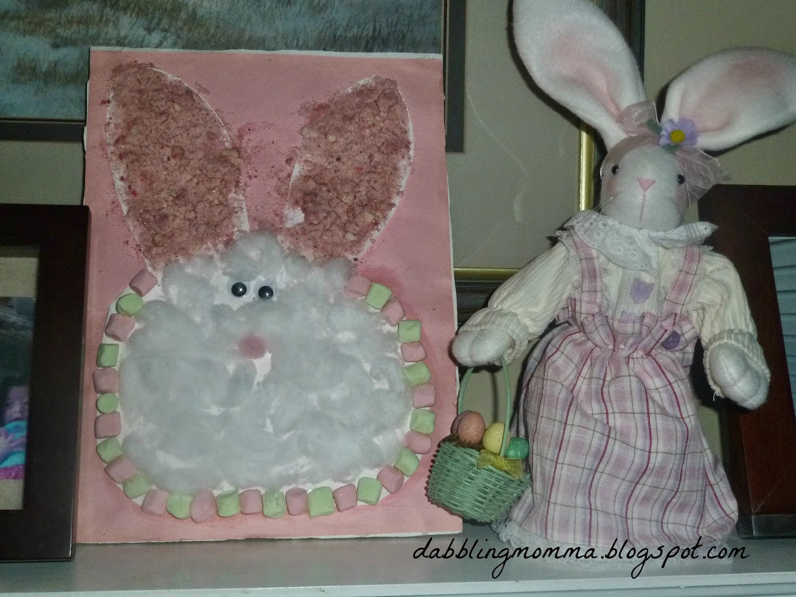 Textured Easter Bunny