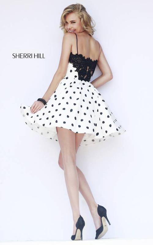 2016 Homecoming Dresses: A Line Sherri Hill Homecoming ...