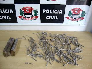 Polícia Civil prende um traficante de drogas em Registro-SP
