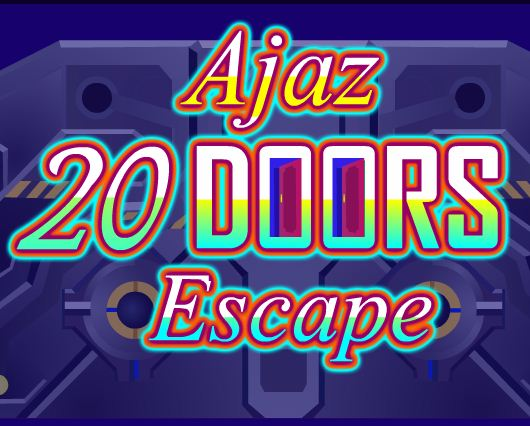 AjazGames 20 Doors Escape Walkthrough
