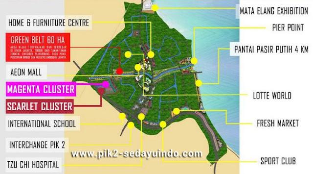 Master Plan Sedayu Indo City PIK 2 Jakarta