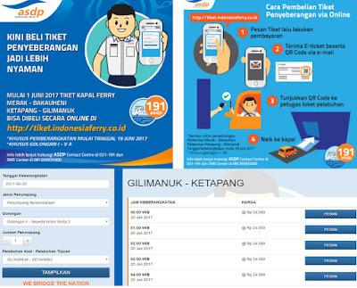 Tiket Online Pelabuhan