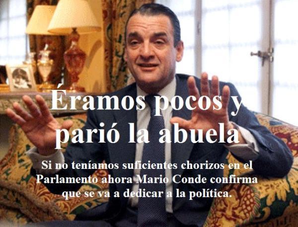 Mallorca Al Desnudo Atención Mario Conde Salta O Asaltaa