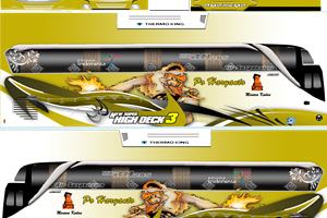 Download Livery Bus PO Haryanto HD, SHD dan XHD Terbaru Jernih Kualitas PNG