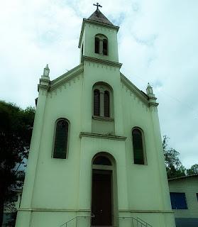 Santuário Madonna de Monte Bérico, Antônio Prado. Fachada da igreja.