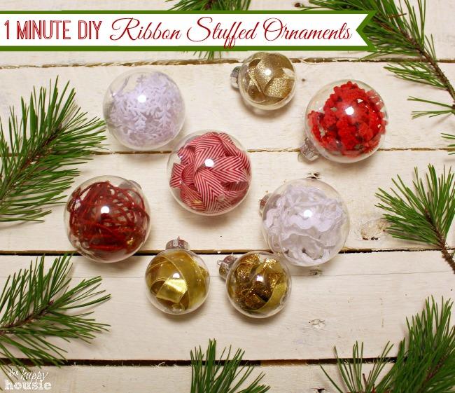 3 Tipos de adornos para el árbol de Navidad
