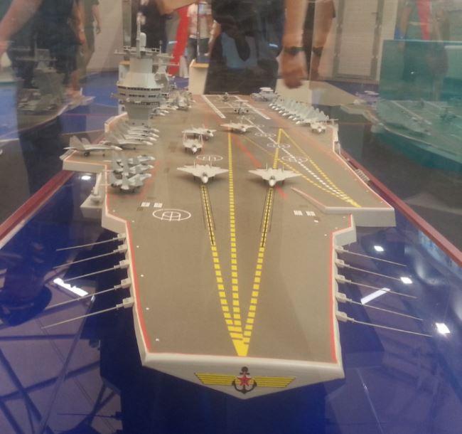 Desain kapal induk Shtorm