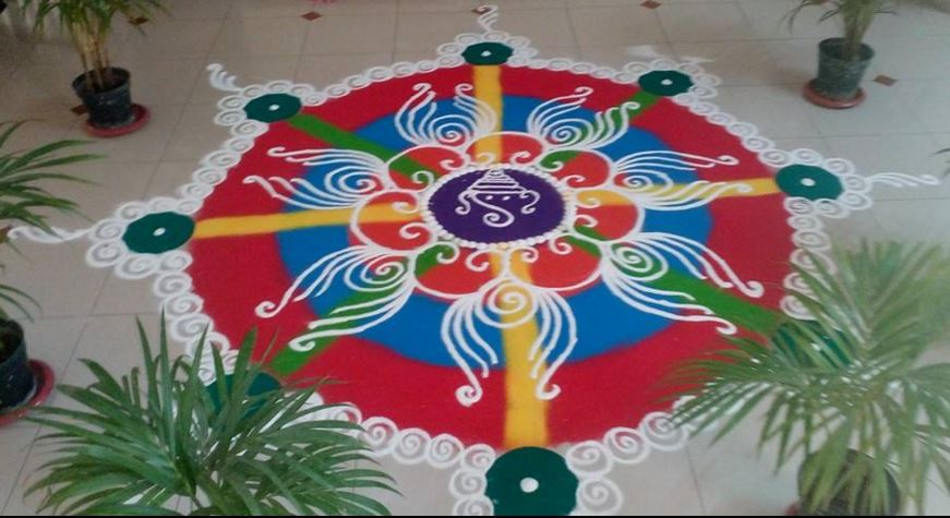 Easy Rangoli Designs For Holi ! Art Magazine